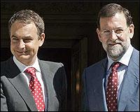 Zapartero y Rajoy