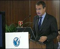 Zapatero en la Asamblea de la SIP