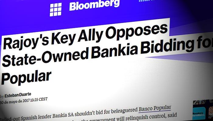 Ciudadanos afirma en bloomberg que se opone a que bankia for Bankia oficina por internet