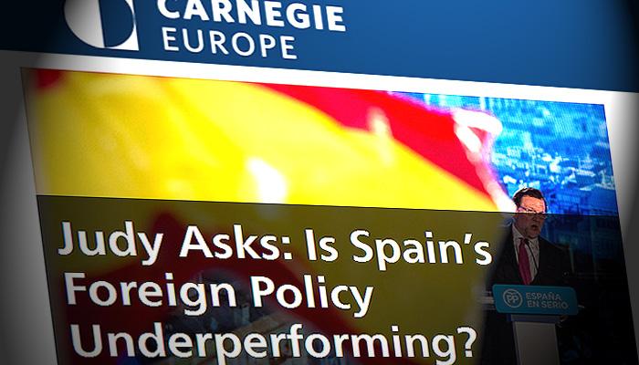 Est haciendo espa a una pol tica exterior por debajo de for Politica exterior de espana