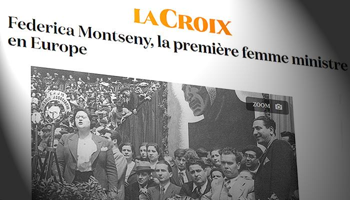 Día Internacional de la Mujer -8 de marzo  Croix-montseny-ministra