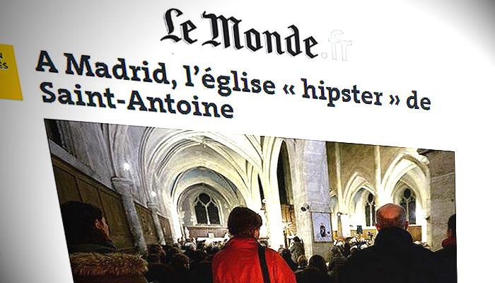 Le Monde Se Fija En La Iglesia Hipster De San Anton En Madrid