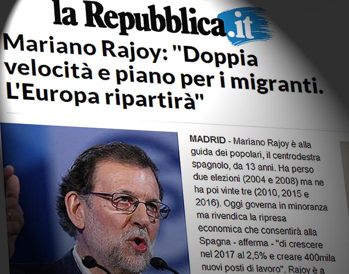 Las Tres Frases De Rajoy Que Destacan Periódicos Europeos